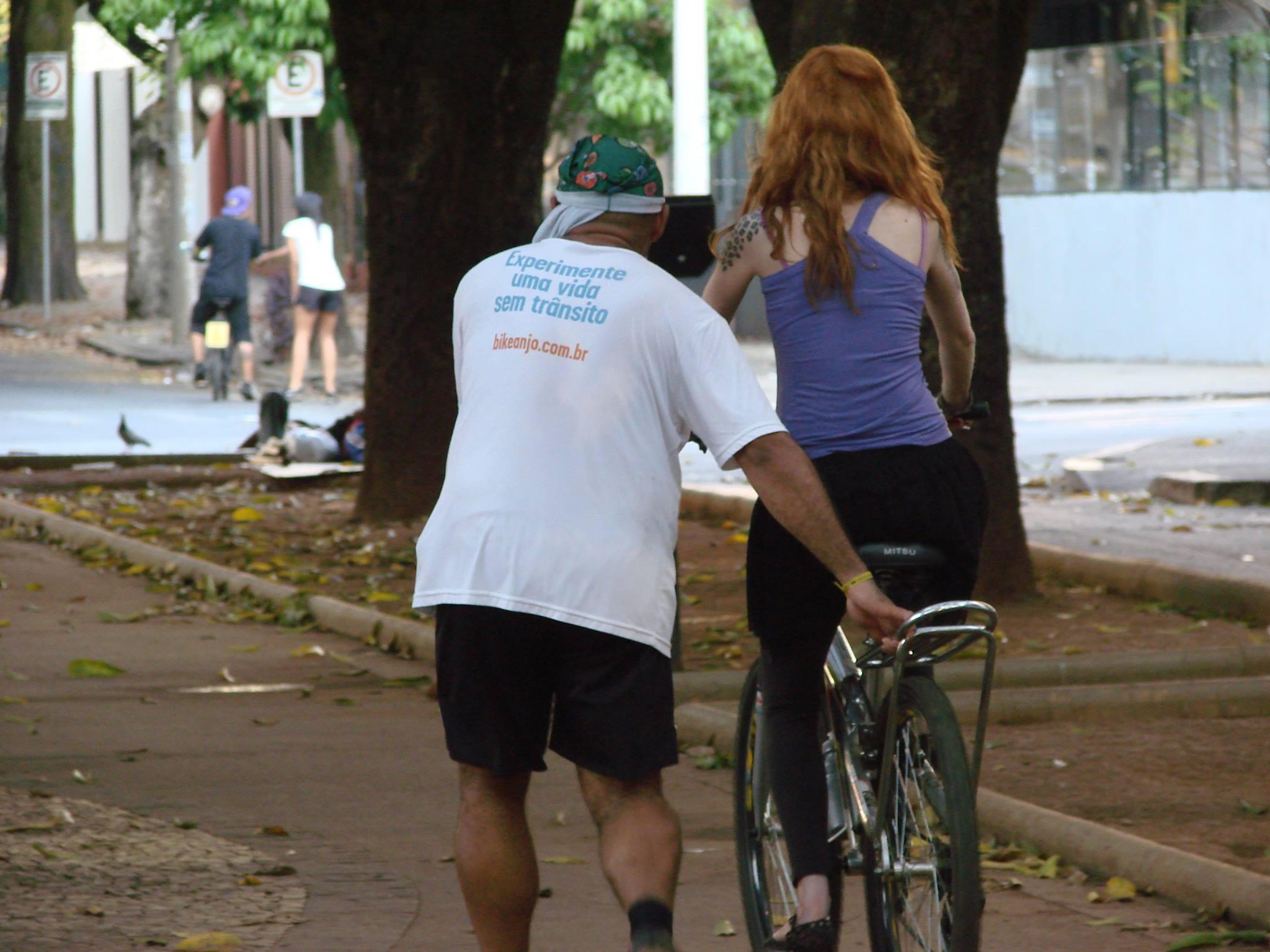 Escola Bike Anjo em Belo Horizonte. Foto: Bike Anjo BH