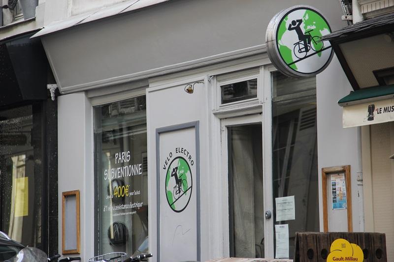 Bike shops em Paris - Velo Electro. Foto: André Schetino