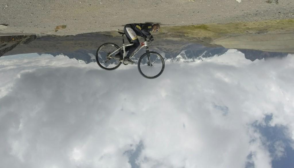 A escalada dos Andes de bike.