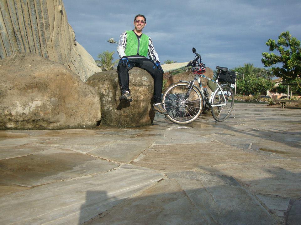 Eu no Audax 200KM Rio das Ostras, em 2013.