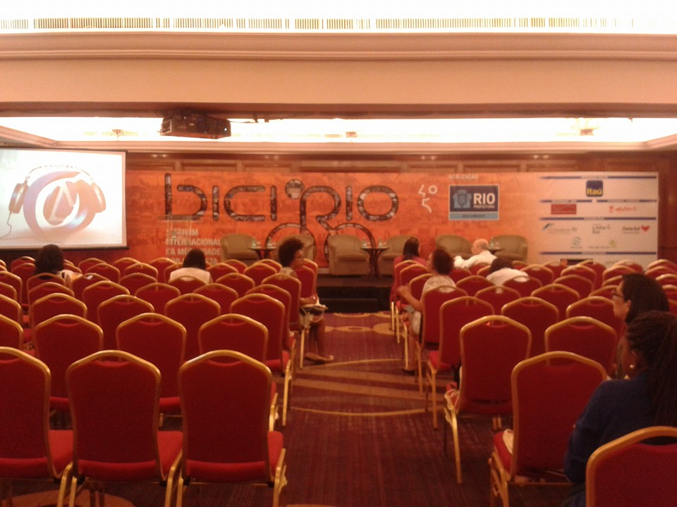 Auditório do BICIRIO