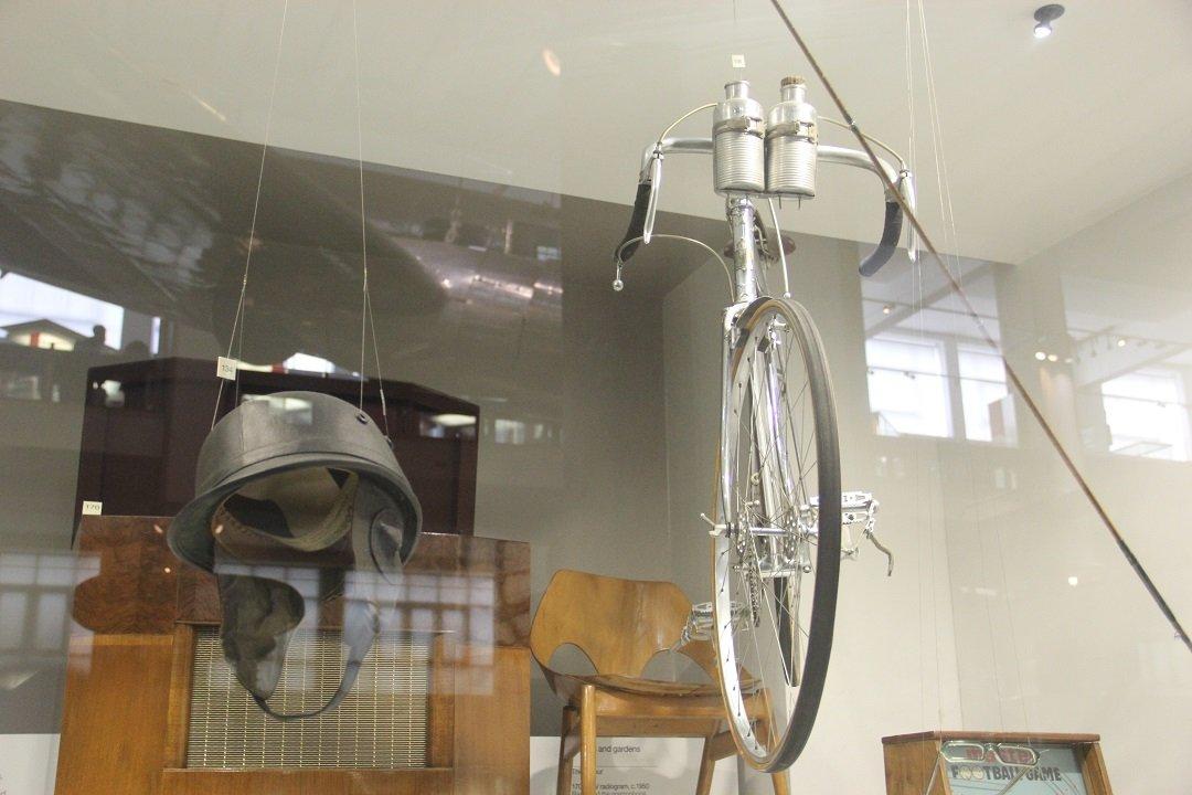 Bicicleta de corrida Claud Butler, de 1950. Foto: André Schetino