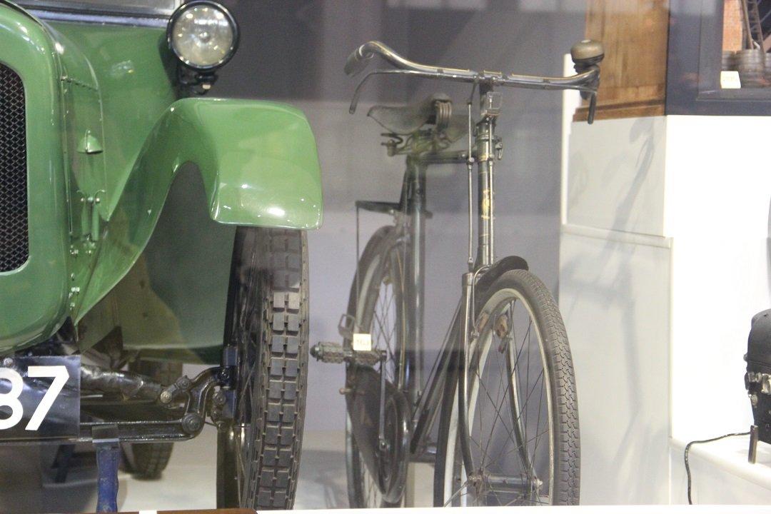 Bicicleta Marston de 1927. Foto: André Schetino
