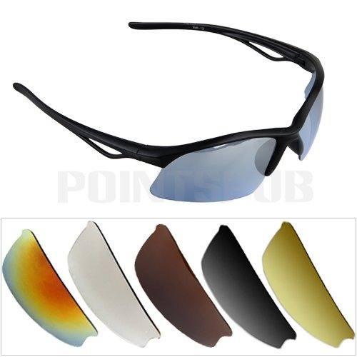 óculos de ciclismo com lentes intercambiáveis