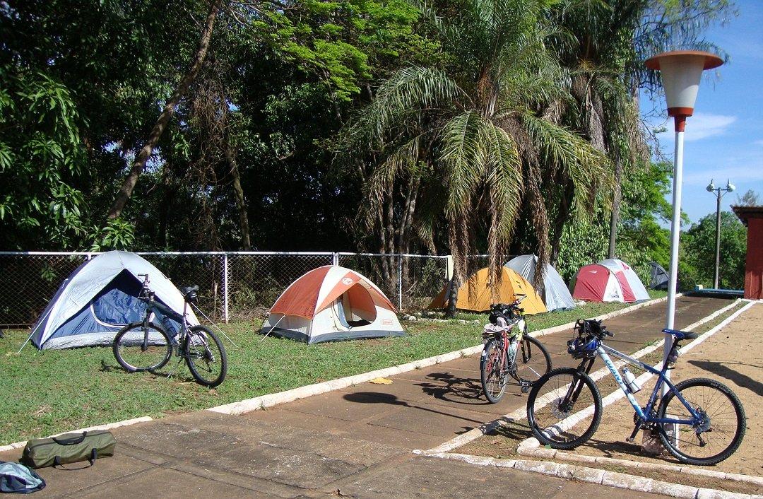hospedagem no cicloturismo: camping