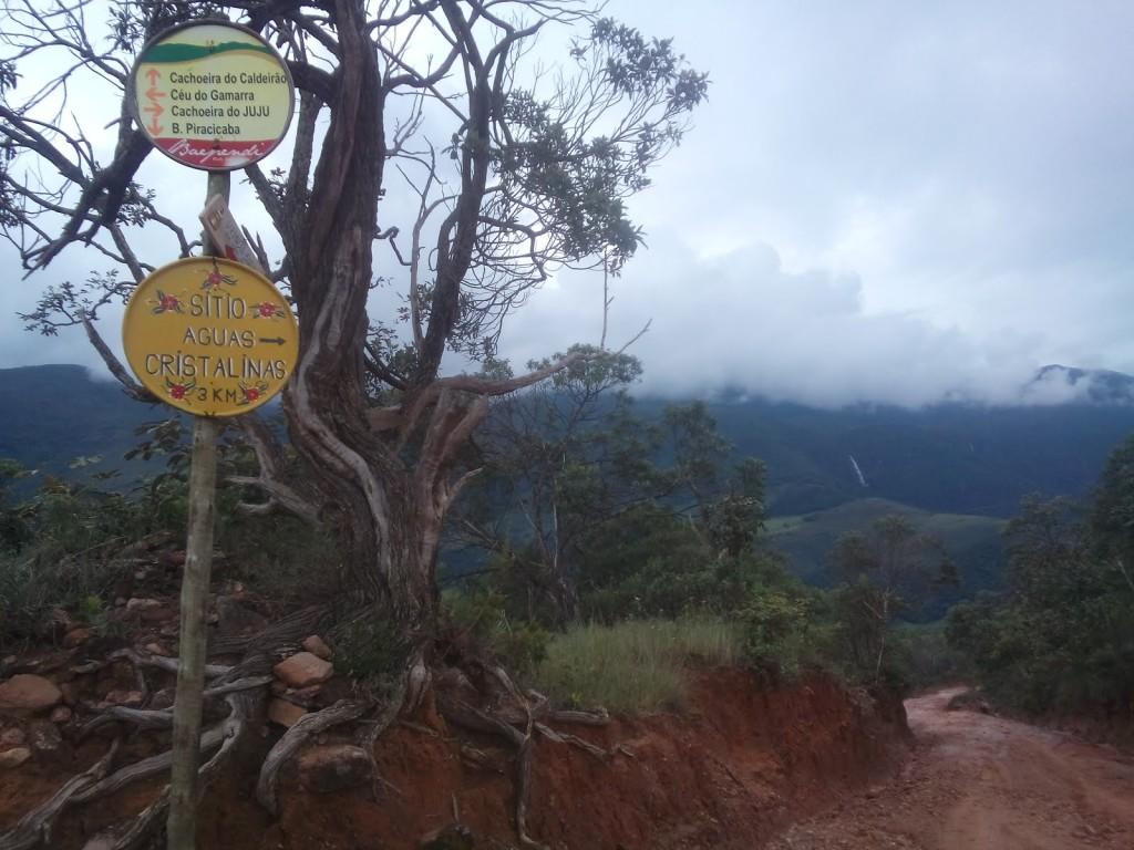 Placa Cachoeira do Caldeirão