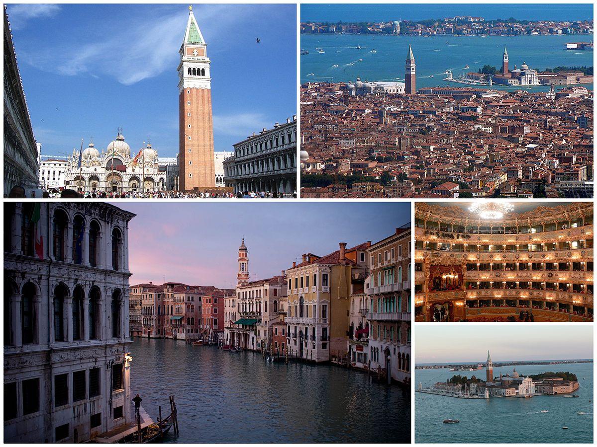 As muitas belezas de Veneza - Por collection by DanieleDF1995 (talk), CC BY-SA 3.0, https://commons.wikimedia.org/w/index.php?curid=9532753