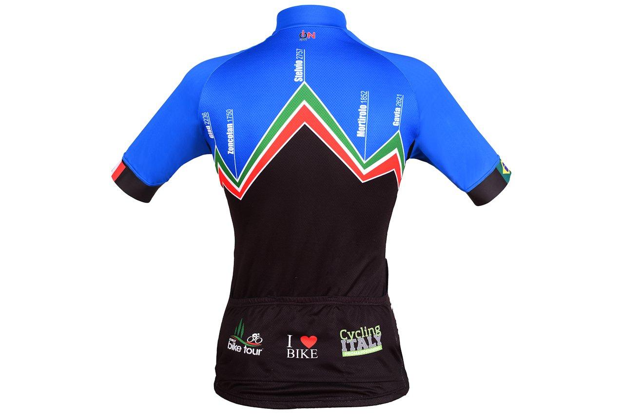 Camisa de ciclismo Italy Bike Tour Montagna - costas