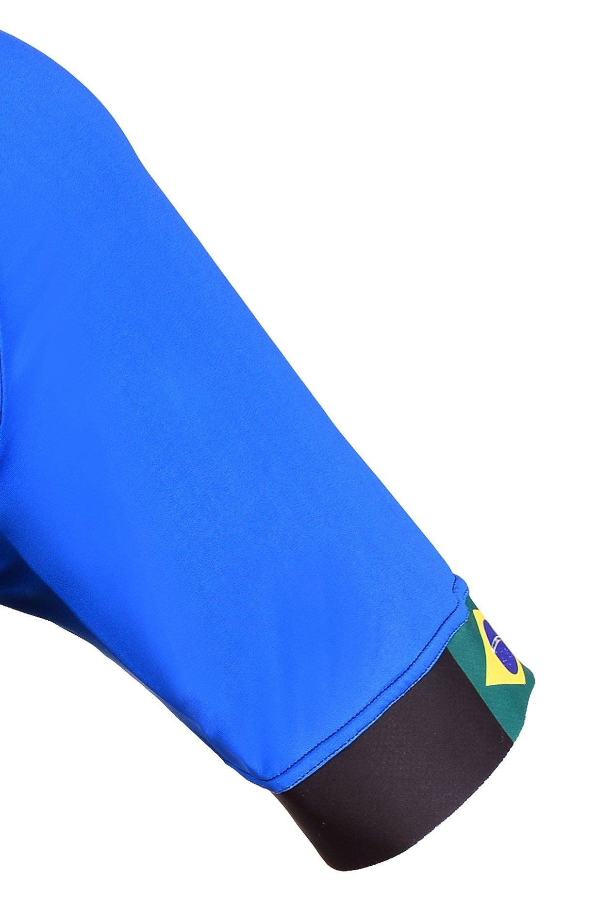 Camisa de ciclismo Italy Bike Tour - manga direita