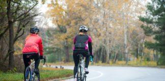 pedalar no frio