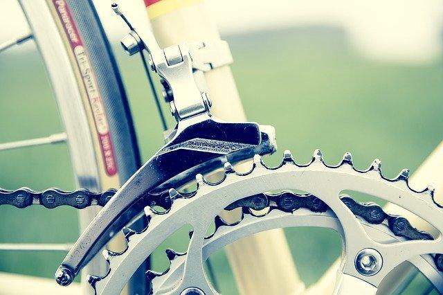 bicicleta detalhe corrente