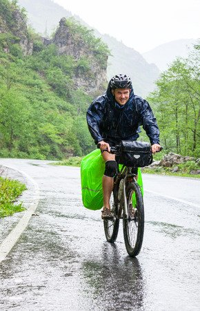 cicloturismo na chuva