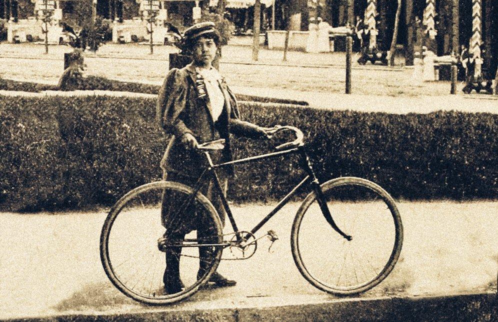 Kittie Knox - mulheres inspiradoras para o ciclismo