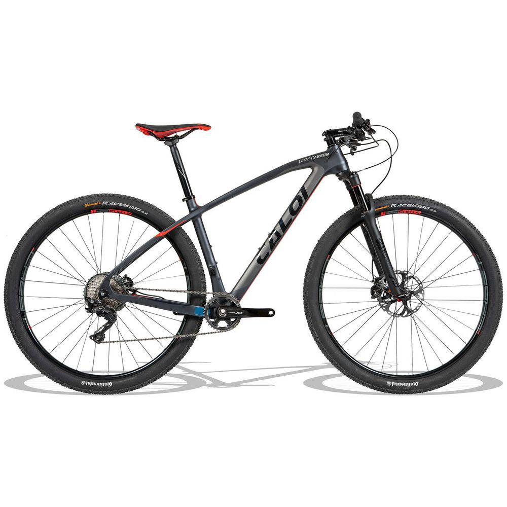 Caloi Elite Carbon Racing - mountain bike de alto desempenho