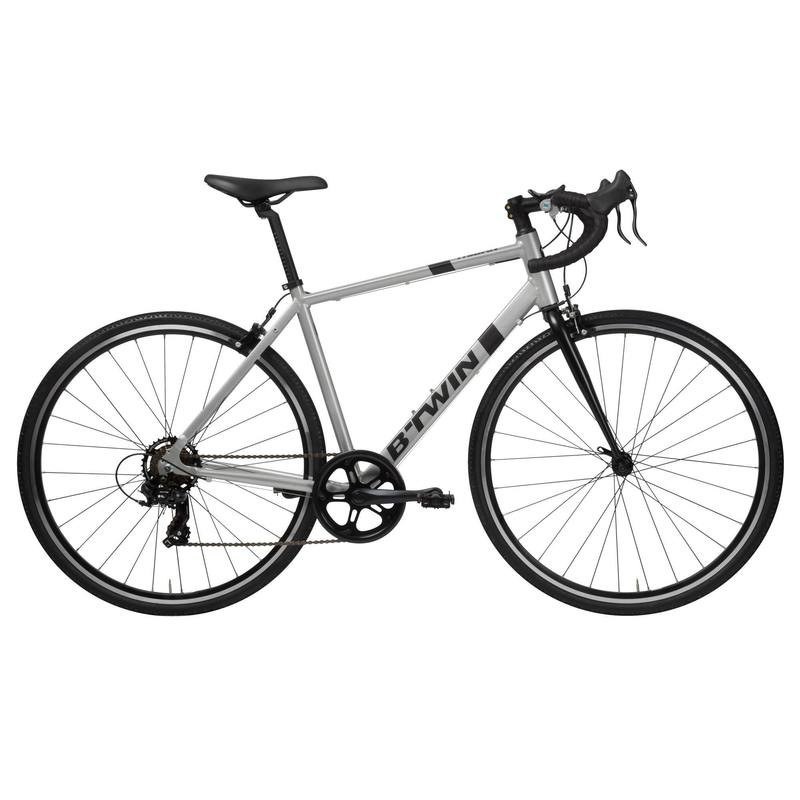 bicicleta speed barata brwin triban 100