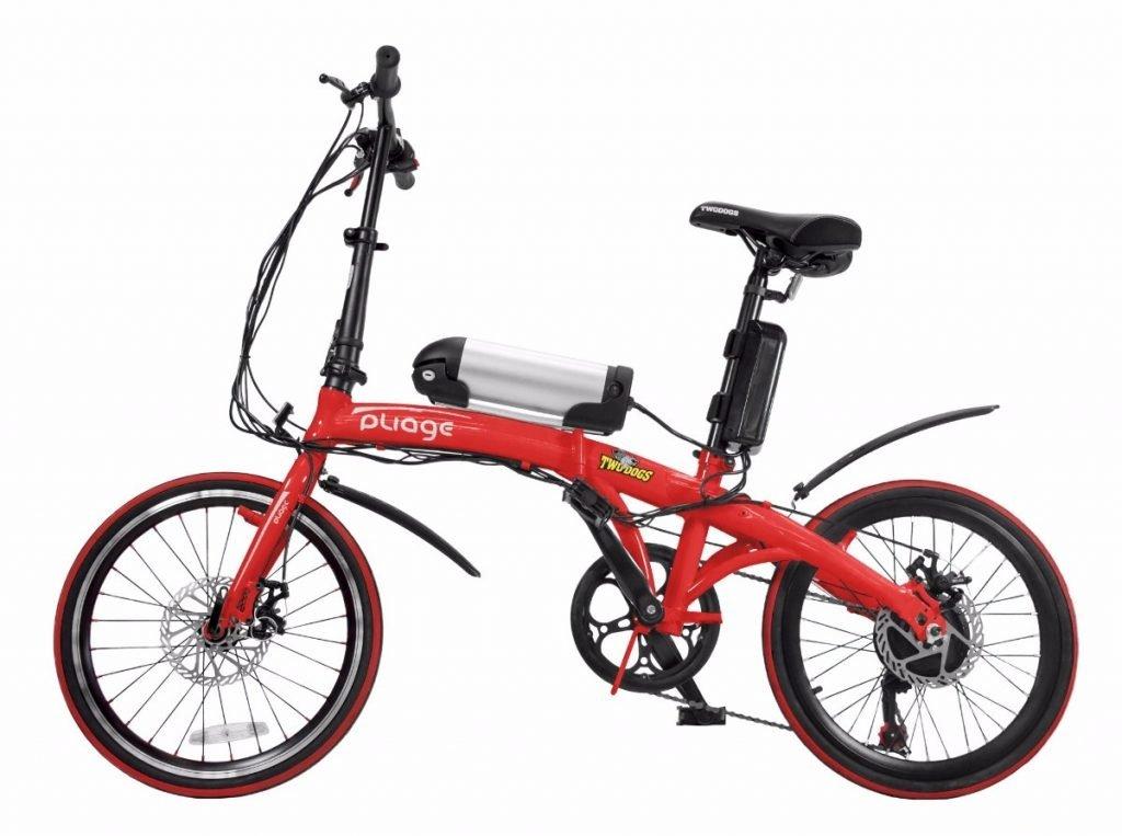 Bike elétrica dobrável Two Dogs Pliage