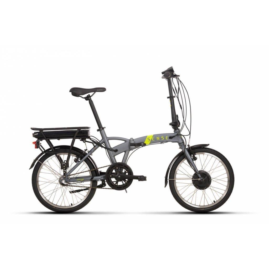 bicicleta dobrável elétrica sense easy