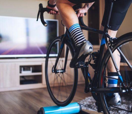 ciclismo indoor rolo de equilibro