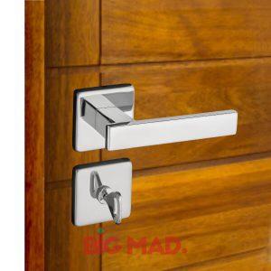Fechadura para portas em inox 1