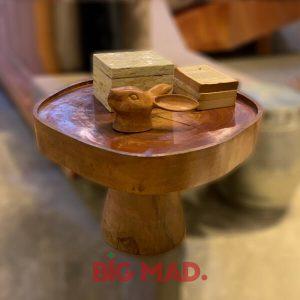 Mesa de Canto Gipsy em Madeira Macica