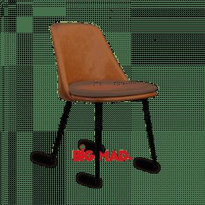 Cadeira LAuren em Courino Com Estofado