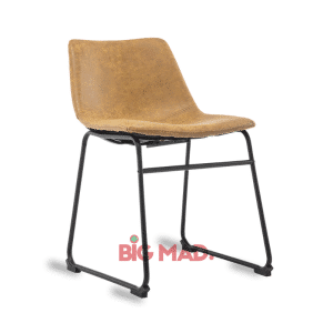 Cadeira de Couro Bruna