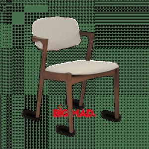 Cadeira Greta com estofado