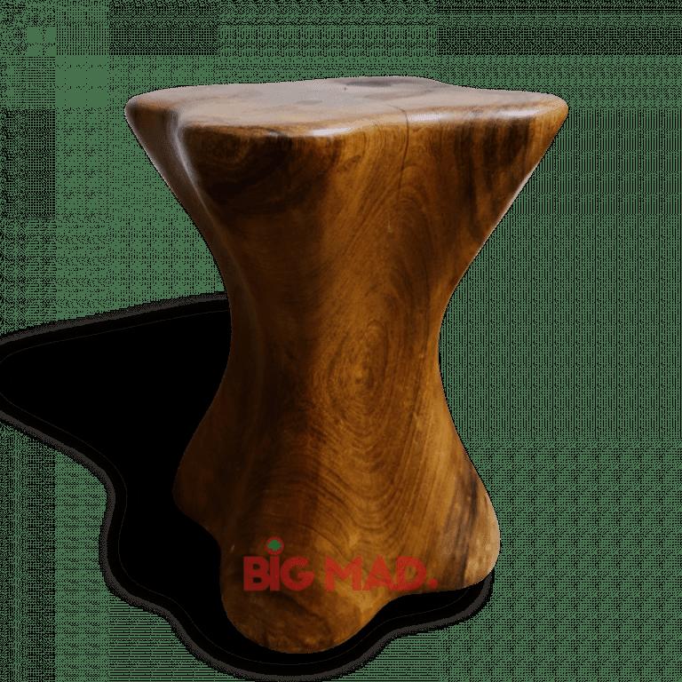 Banco trevo em madeira macica