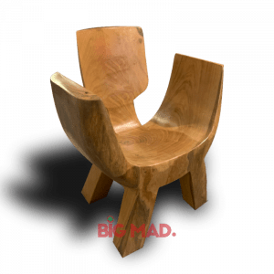 Poltrona de Madeira Design Troad