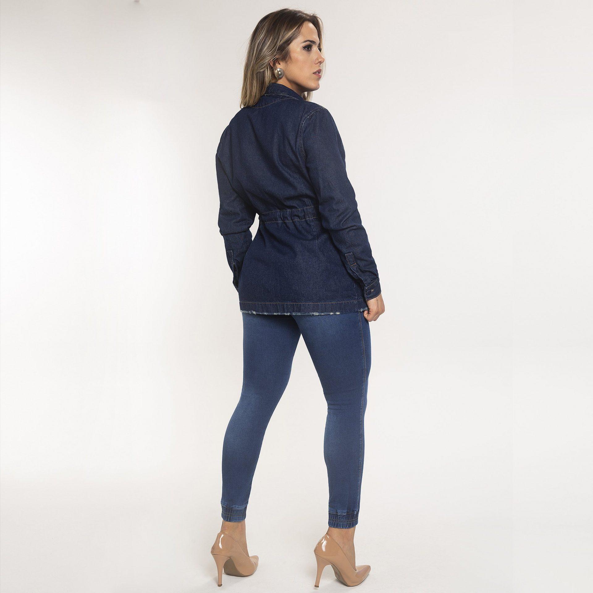 Casaco Jeans e Calça Jogger