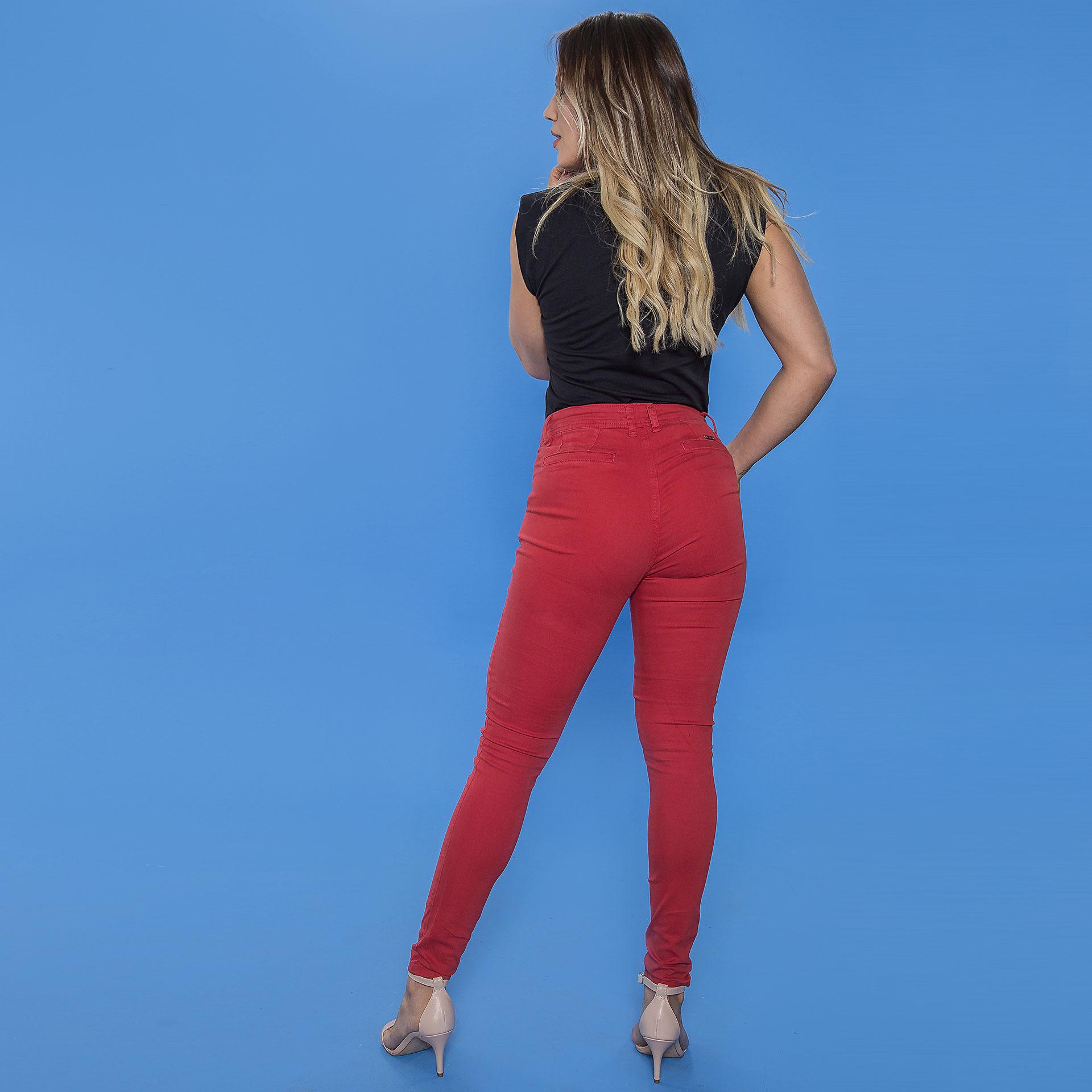 Calça Color Vermelha
