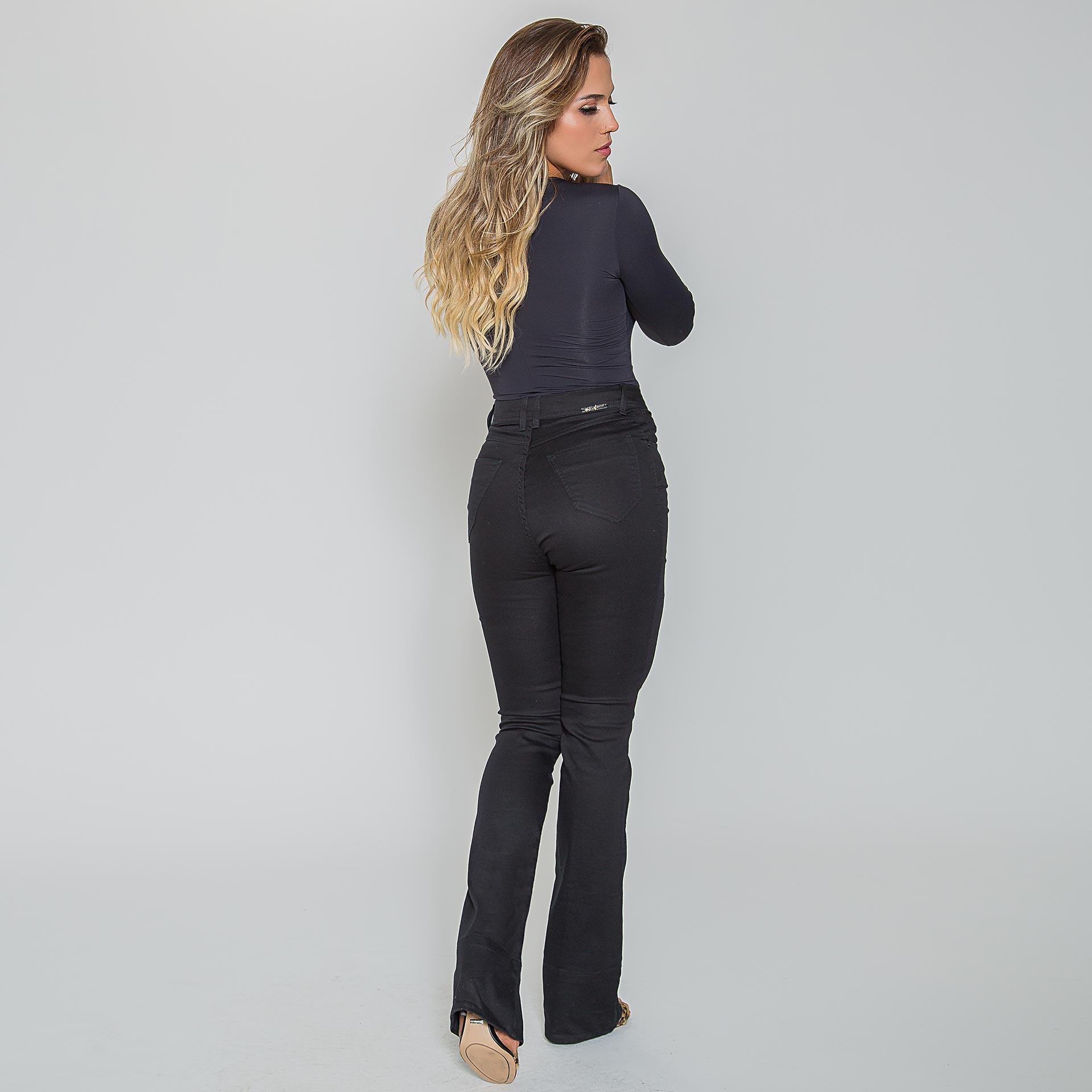 Calça Sarja Preta