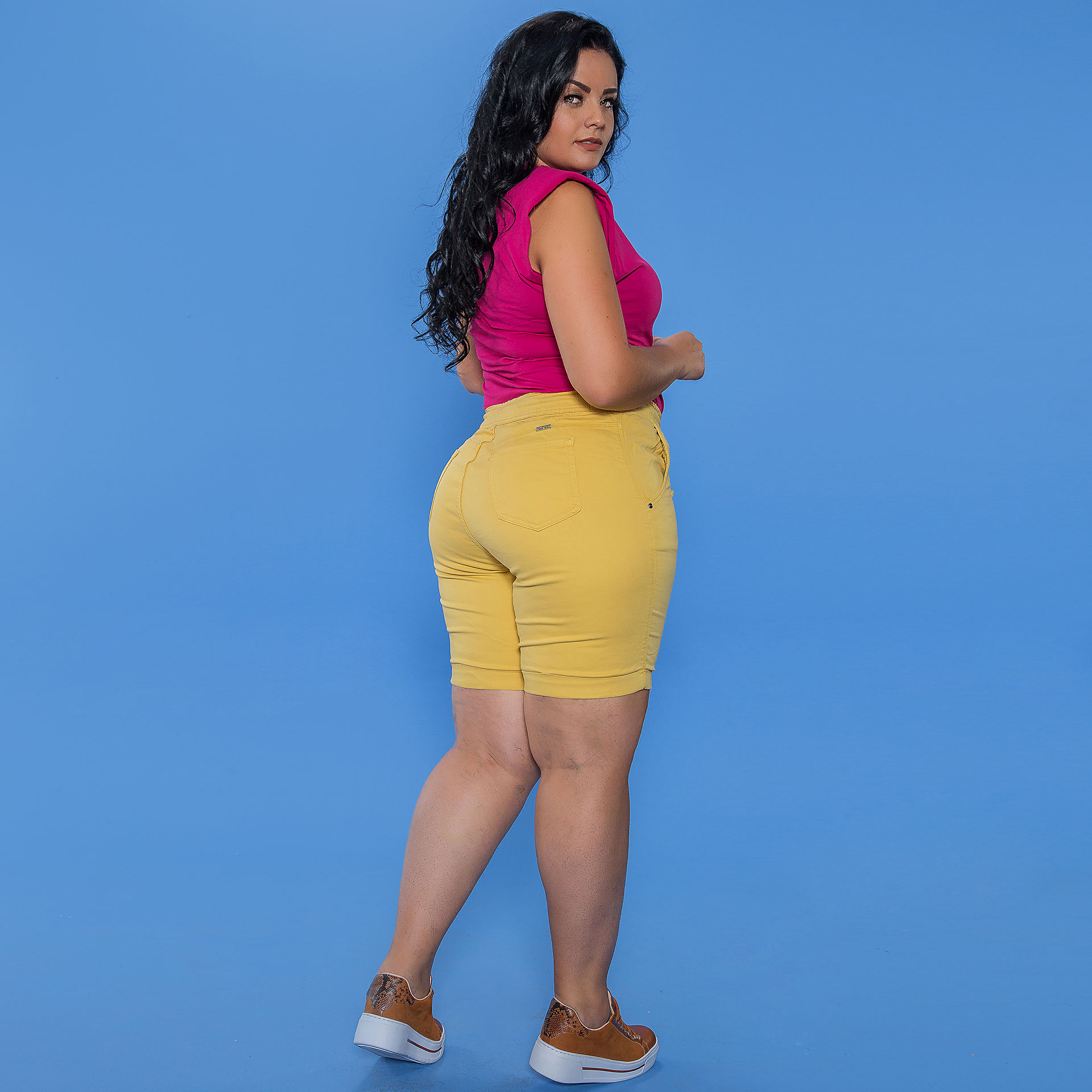 Bermuda Color Plus Size