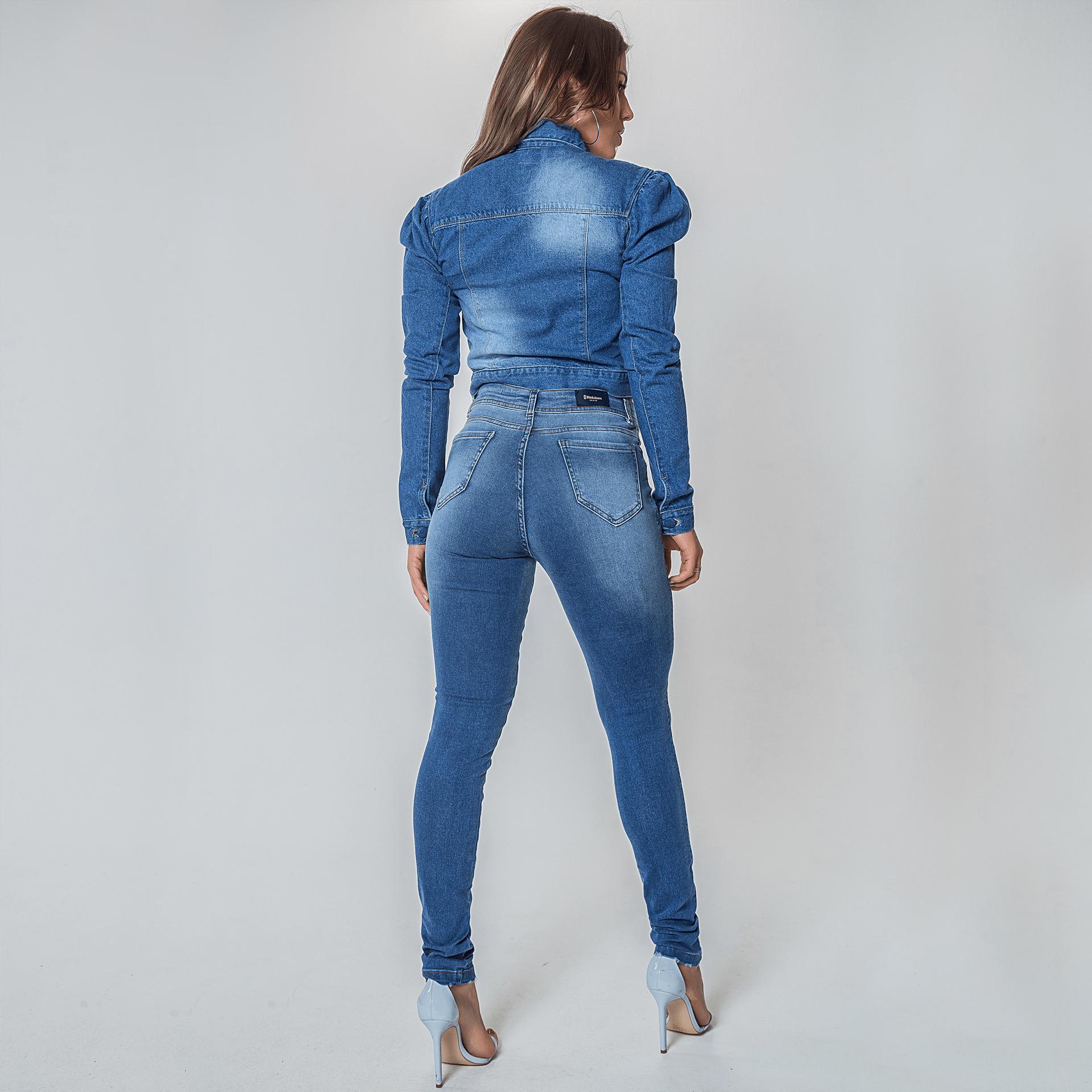 Camisa e Jaqueta Jeans