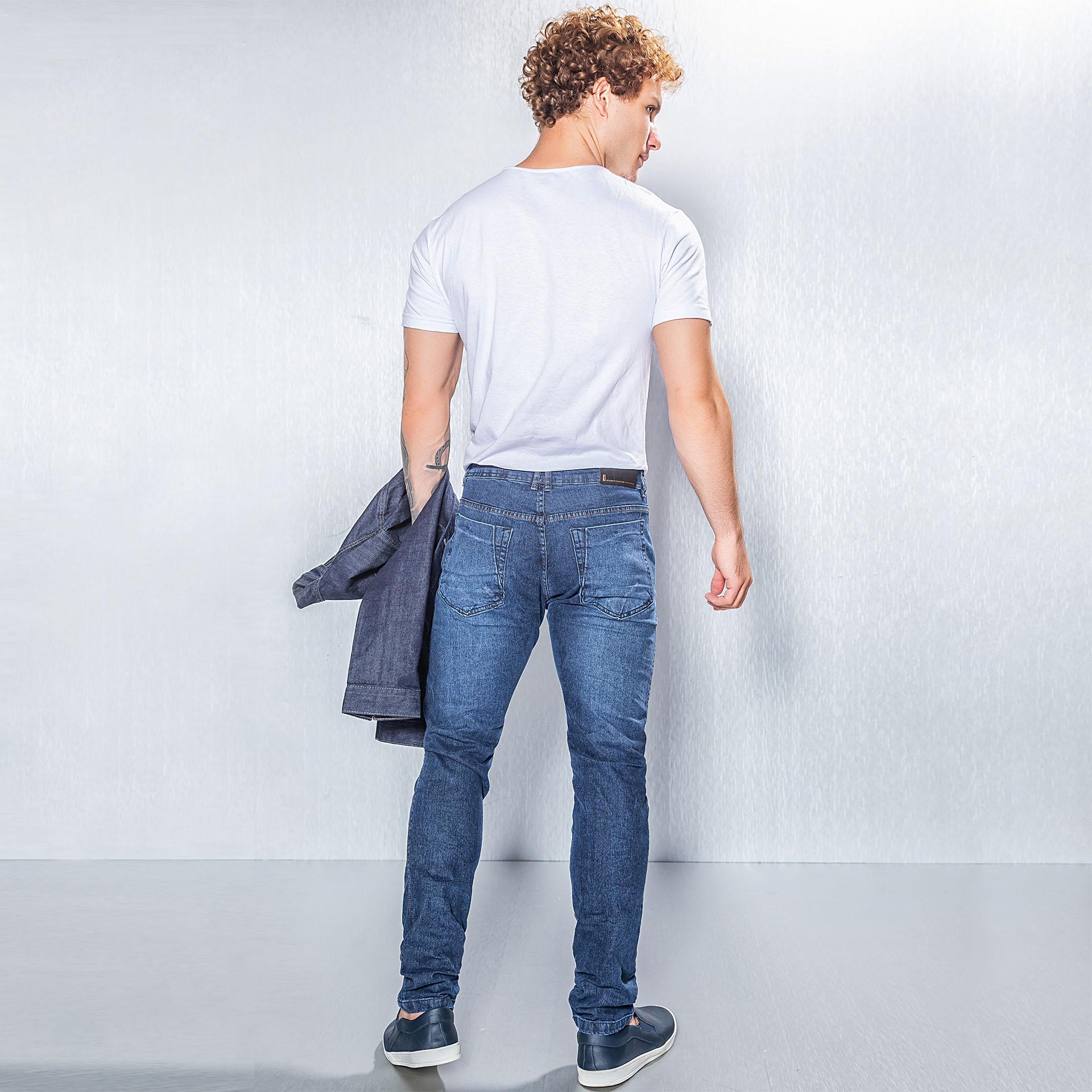 Jaqueta e Calça Jeans