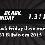 Black Friday 2015 deve movimentar R$ 1,31 bilhão, estima ABComm