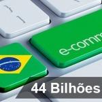 E-commerce nacional fatura R$ 44,4 bilhões em 2016