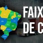 Faixas de CEP de capitais e regiões de todos os estados do Brasil