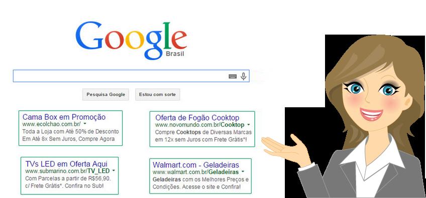 Gestão de anúncios no Google Adwords