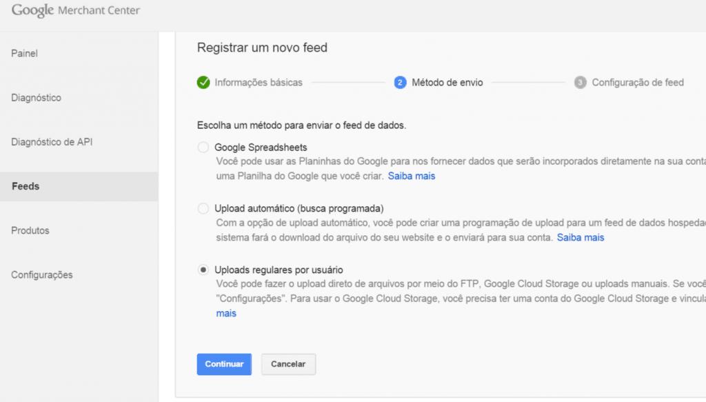 google-merchants-feed-metodo-manual