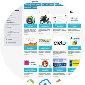 Loja de Módulos OpenCart Brasil na Web