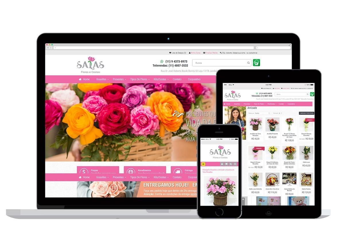 Loja Virtual Floricultura Salas