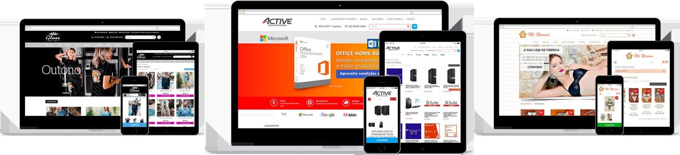 criar site de vendas gratis