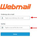 Como alterar a senha do email usando WebMail