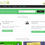Alteração de contatos na RegistroBR