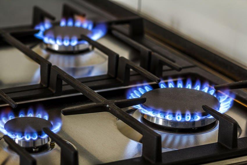 Vazamento de gás em residência