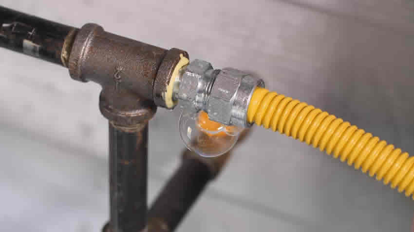 Suspeita de Vazamento de Gás