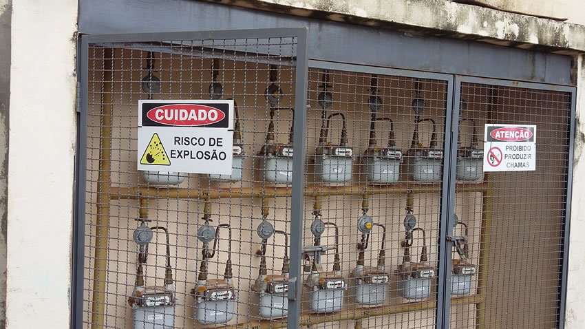 Vazamento de Gás em Condomínio