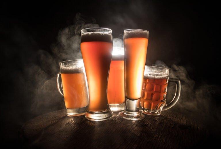 teor alcóolico da cerveja