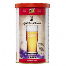 Beer Kit Coopers Golden Crown Lager - 23l